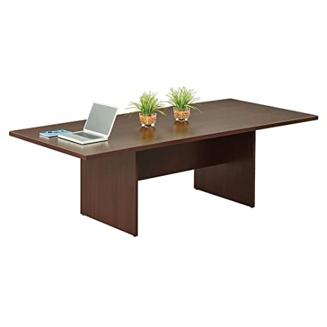 Amazoncom Rectangular Conference Table W X D Espresso - Espresso conference table