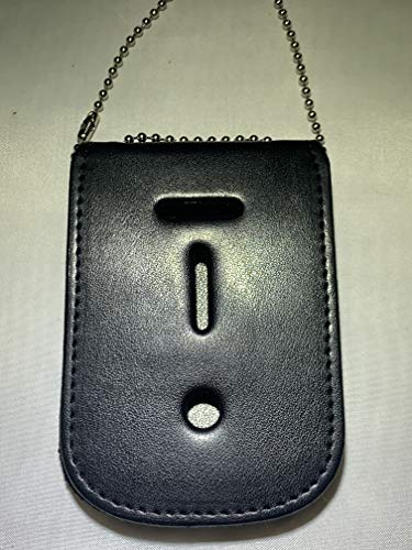 POLICE OFFICER UNIVERSAL FIT BADGE NECK AND ID HANGER BEAD CHAIN