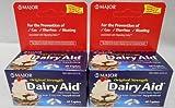 Dairy Aid Lactase Enzyme Caplets Generic for Lactaid Original 120 Ea.