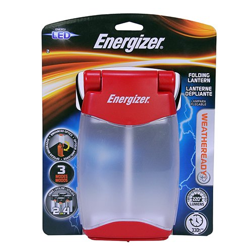 Energizer Weatheready Folding Lantern High/Low/Nightlight...