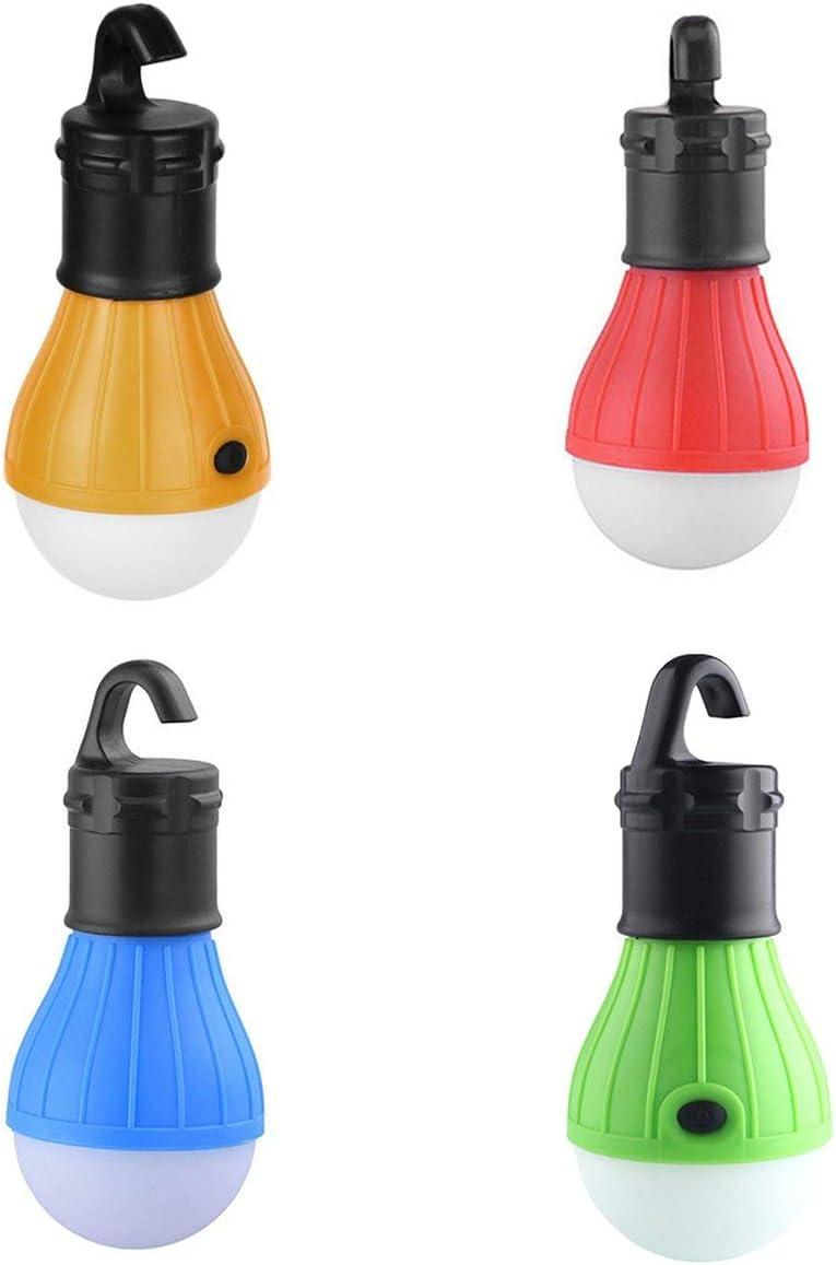 Gugutogo Portable 3 LED Camping Lampe Randonn/ée Lanterne Lumi/ère Tente dext/érieur Lampe Universelle Activit/és de Plein air Accessoires Jaune