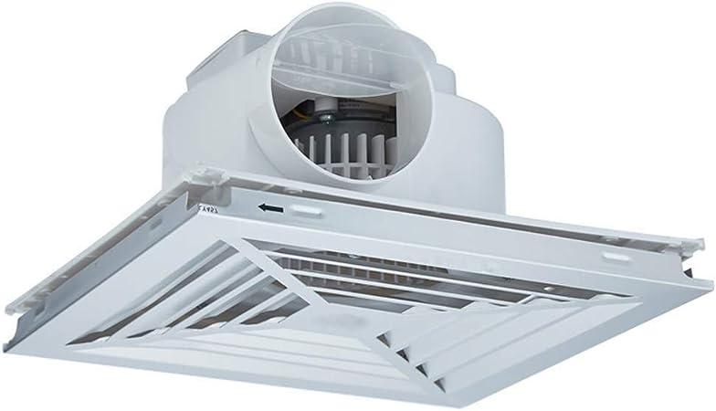 DX Extractor de Aire Extractor de ventilación Extintor Ventilador de Aluminio losa de Bola del Motor: 25W, Velocidad: 1250R / min, tamaño de Apertura: 300 * 300mm Extractor de Aire Tranquilo: Amazon.es: Hogar