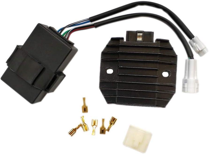 CARBEX Voltage Regulator Rectifier Kit CDI Box for Kawasaki Bayou 300 KLF300B 1988-1991