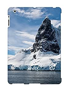 NWFEqKt369cmzfe Trolleyscribe Awesome Case Cover Compatible With Ipad 2/3/4 - Mountain Nature Landscape Cloud Lake Tree Reflection River Rock