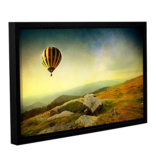 """UPC 640823094963, ArtWall """"Dragos Dumitrascu's Keys To Imagination Iii"""" Gallery Wrapped Floater Framed Canvas Artwork, 24"""" x 36"""""""
