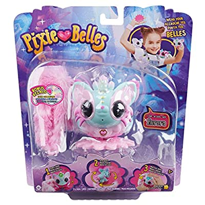Pixie Belles - Aurora - Interactive Electric Pet with Bonus Tail: Toys & Games