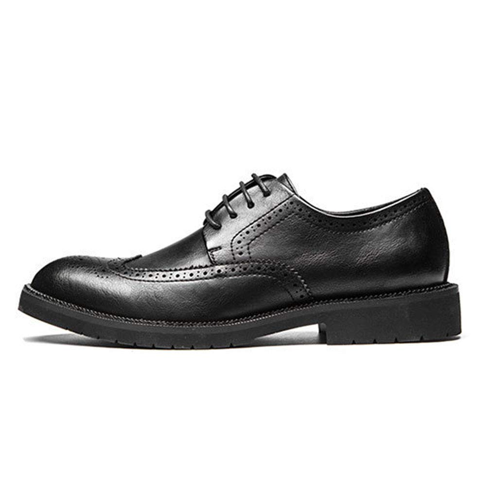 Phil Betty Mens Business Oxford Shoes Round Toe Fashion Comfortable Dress Shoes by Phil Betty (Image #2)