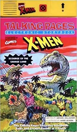 Marvel Comics X-Men: Scourge of the Savage Land (Talking Pages