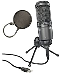 Equipped with a USB output, the AT2020USB+ is designed for digitally capturing music or any acoustic audio source using your favorite recording software. The microphone offers the critically acclaimed, award-winning sound of the AT2020, with ...