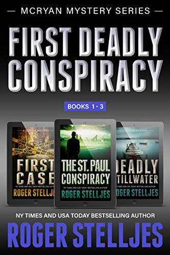 (First Deadly Conspiracy: Crime Thriller Box Set (Mac McRyan Mystery Series, Books 1-3))
