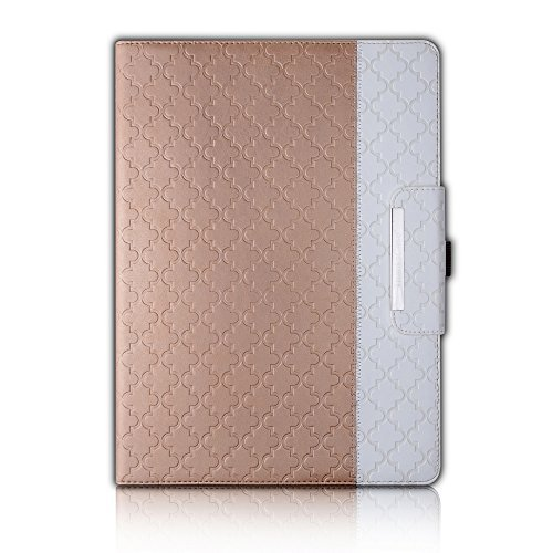 Thankscase Rotating Quatrefoil Lattice Embossed