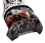 Star Wars Ep7 Live Action Red 64'' x 86'' Twin Comforter