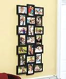 21-Photo Collage Frame (Black)