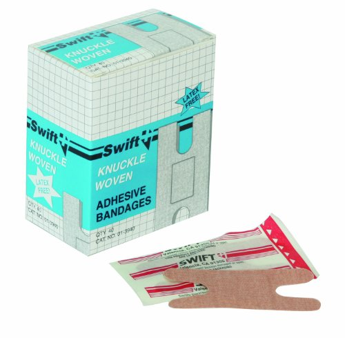 SWIFT FIRST-AID North by Honeywell 013940 Woven Knuckle, ...
