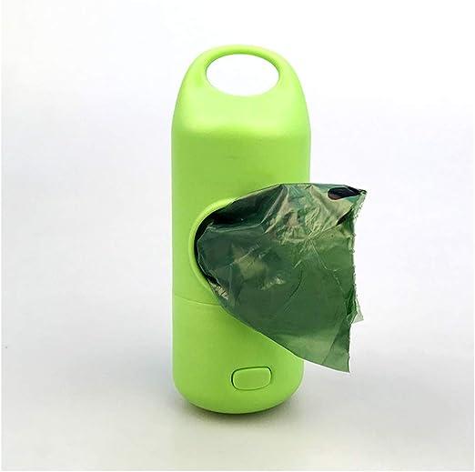 CLLX Dispensador con Luces LED+Poop Bags - Bolsas para Excremento ...