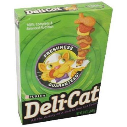 Purina Deli-Cat Adult Dry Cat Food -  16 Oz. Boxes