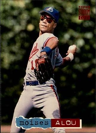 1994 Topps Stadium Club Baseball Card #141 Moises Alou at