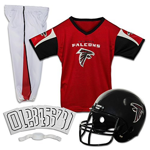 Franklin Sports NFL Atlanta Falcons Deluxe Youth Uniform Set, Small by Franklin Sports