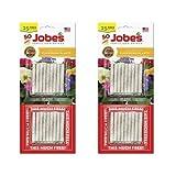 Jobe's Fertilizer Spikes for Flowering Plants, 10-10-4 Time Release Fertilizer, 50 Spikes per Package (2 Pack)