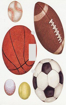 Football Switchplate Cover (Sports Balls Decorative Switchplate Cover)
