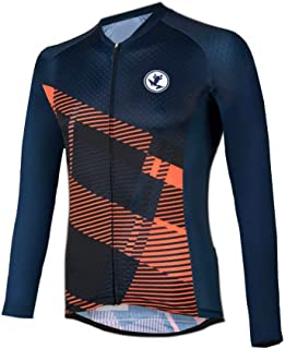 Uglyfrog Winter Damen Fahrradtrikot Set Thermal Trikots & Shirts + Radhose mit 3D Sitzpolster Radfahren Winddicht Anti-kalt TZRWX01