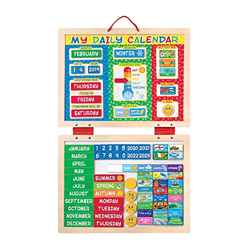 Melissa amp Doug My First Daily Magnetic Calendar