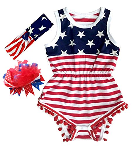 infant 4th of july dress - 7