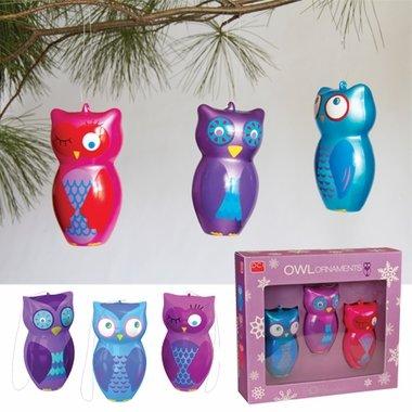 Amazoncom Owl Christmas Ornaments Home Kitchen