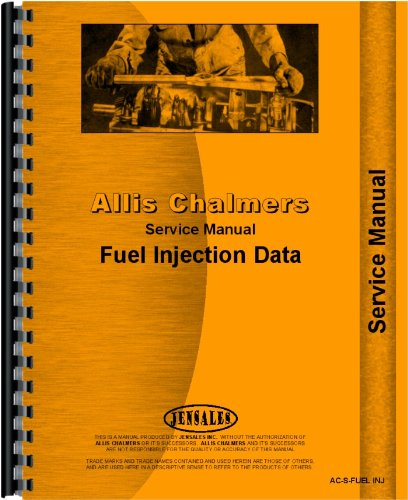 Allis Chalmers HD16D Injection Pump Service Manual PDF