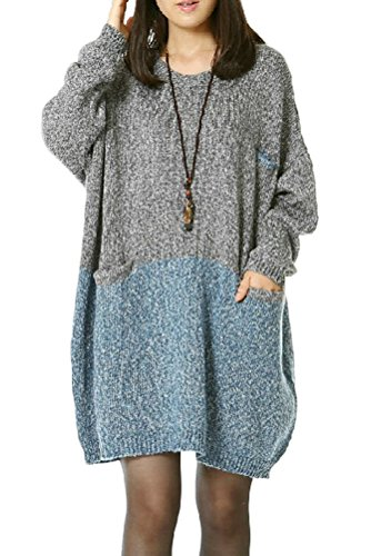 Mordenmiss-Womens-Oversized-Pullover-Knit-Sweater-Top