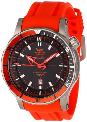 Vostok-Europe Men's NH35A/5107171-3 Anchar Titanium Case Diver Watch