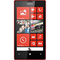 Nokia Lumia 520 Unlocked GSM Dual-Core Windows 8 Smartphone 8GB – Red