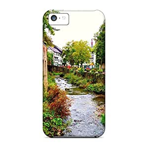Jeffrehing Scratch-free Phone Case For Iphone 5c- Retail Packaging - Landscape