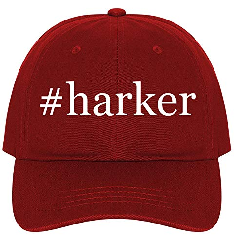 #Harker - A Nice Comfortable Adjustable Hashtag Dad Hat Cap, Red