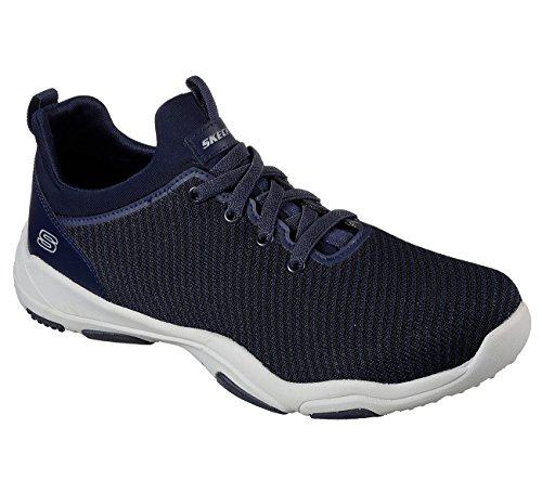 Skechers Mens Larson omero Fashion Sneakers Navy D(M) US Navy