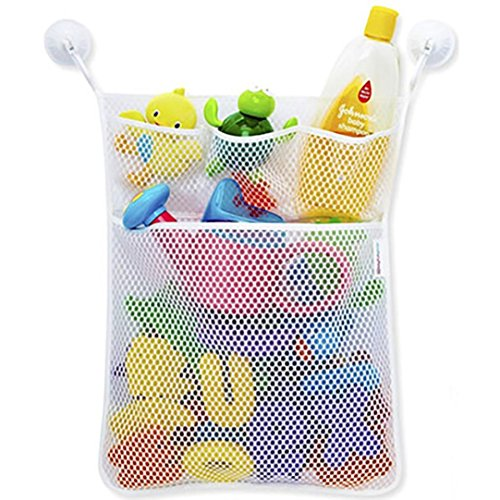 AmyDong Storage Box,Clearance Children's Baby Toy Pouch Bedroom Small Items Collection Bag Fashion New Bath Bathtub Doll Organize (White)
