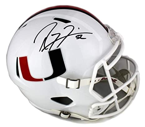 Amazon.com  Ray Lewis Signed Miami Hurricanes Riddell Full Size NCAA Speed  Helmet - Autographed College Helmets  Sports Collectibles b8f34f4b4