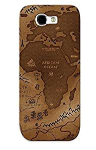 Hot VYCvfmD1064VNFqE Fantasy Map Tpu Case Cover Series Compatible With Galaxy Note 2