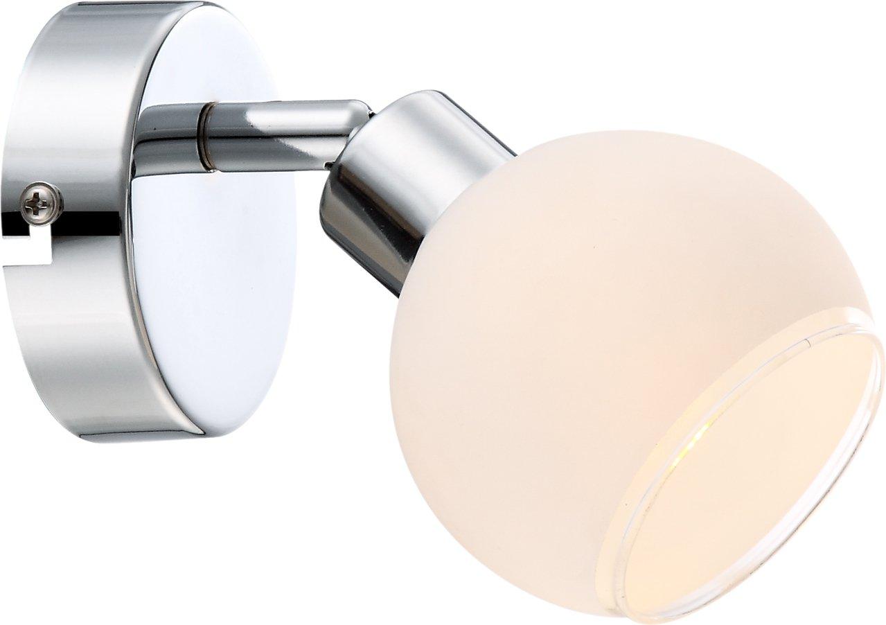 Globo - Faretto da parete cromato Siony [Classe di efficienza energetica A] 56963-1