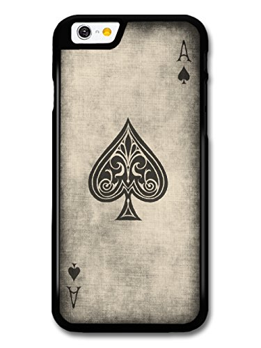 Ace of Spades Playing Card cool design in Black and White Style coque pour iPhone 6 6S