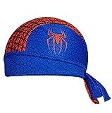 Lins Sports Spiderman Cycling Halo Headband Sweatband Protex Headsweats Classic and Helmet Liner