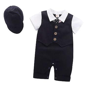 648926745c787 ベビーフォーマル 半袖 洋装フォーマル 夏用ロンパース ベビー服 結婚式服 フォーマルスーツ 紳士スーツ