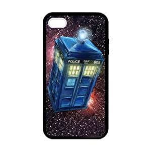Doctor Who TARDIS in the Space Case For Iphone 5/5S Cover