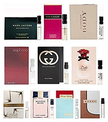 10 Best Selling Perfumes Sample Vial for Women