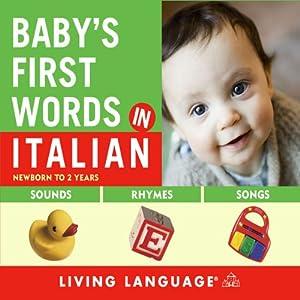 Baby's First Words in Italian Audiobook