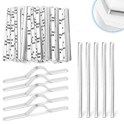 🥇 100 tiras de aluminio para puente de nariz