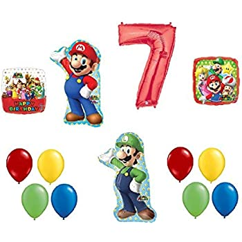 Amazon.com: loonballoon Super Mario Brothers (5) para ...
