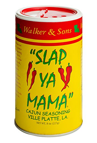 Slap Ya Mama All Natural Cajun Seasoning from Louisiana, Original Blend, MSG Free and Kosher, 8 Ounce Can, Pack of 2 (Best Bloody Mary Recipe Old Bay)
