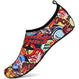 SAGUARO Mens Womens Water Shoes Quick Dry Barefoot Aqua Socks Beach Swim Surfing Walking Jogging Yoga Outdoor Exercise