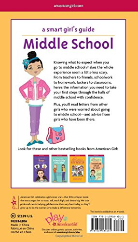 A Smart Girl's Guide: Middle School (Revised): Everything You Need to Know About Juggling More Homework, More Teachers, and More Friends! (Smart Girl's Guides) by American Girl (Image #1)